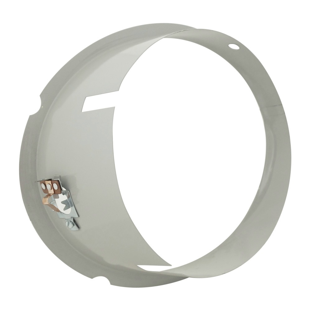 Carcaça do farol olho de boi modelo lente lisa para VW Fusca e Kombi  - Bunnitu Peças e Acessórios