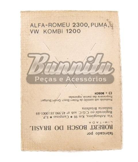 Platinado Bosch para Kombi 1200, Puma e Alfa Romeo 2300  - Bunnitu Peças e Acessórios