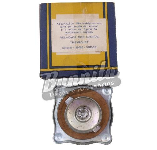 Tampa do radiador para GM Chevrolet 1935 à 1936  - Bunnitu Peças e Acessórios