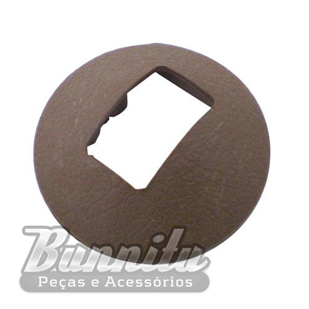 Espelho de acabamento da maçaneta interna para GM Opala, Caravan e Chevette  - Bunnitu Peças e Acessórios