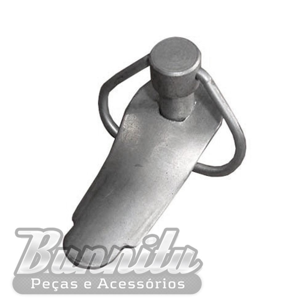Alça da tampa do motor para VW Variant, TL, Brasilia  - Bunnitu Peças e Acessórios