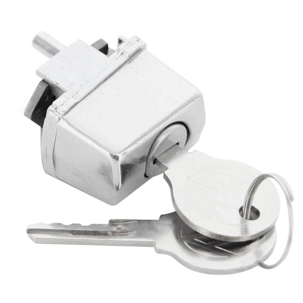 Botão da maçaneta da porta com chave para VW Fusca até 1978  - Bunnitu Peças e Acessórios