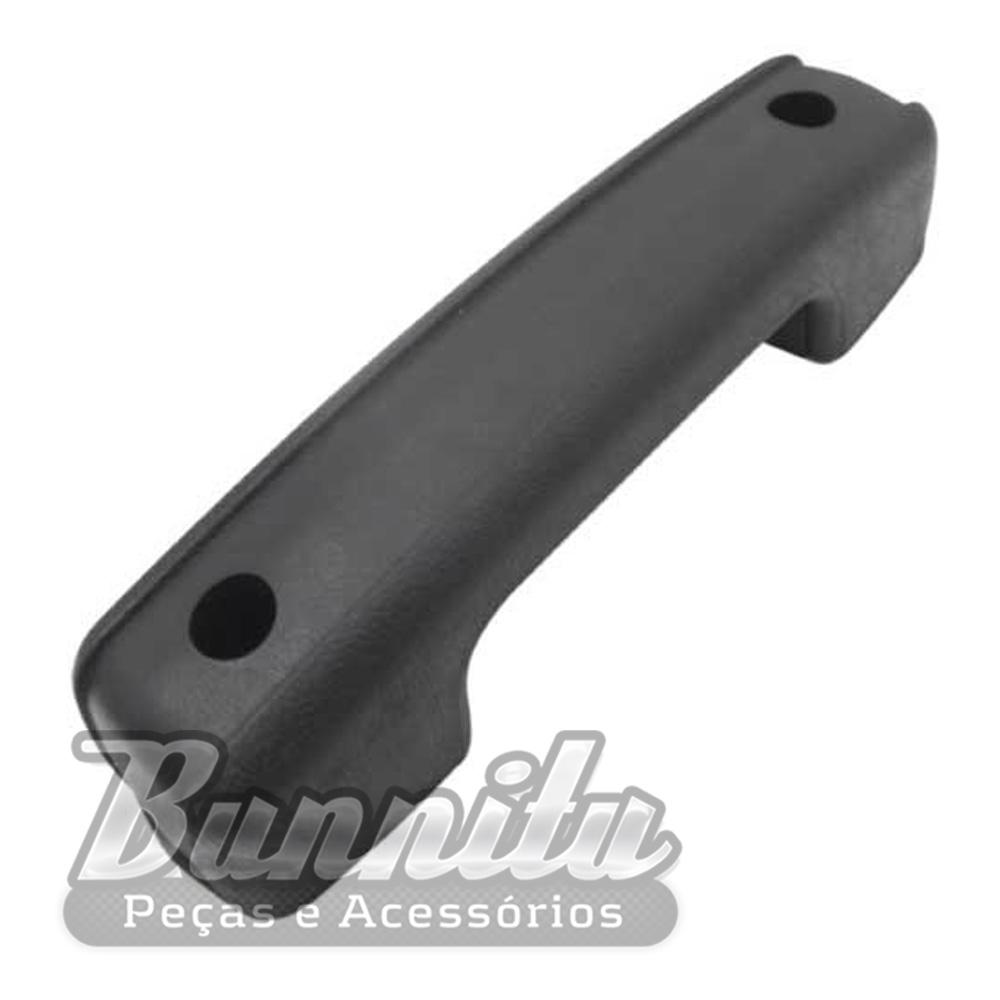 Puxador descanso de braço na cor preta para VW Fusca Itamar  - Bunnitu Peças e Acessórios