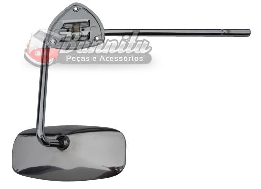 Espelho retrovisor interno para VW Fusca 08/1952 até 1957  - Bunnitu Peças e Acessórios