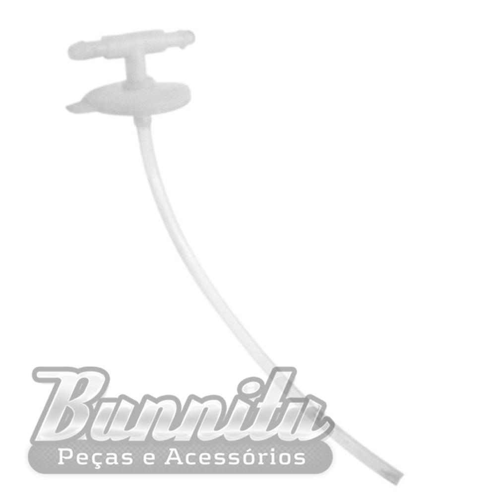 Tampa do reservatório de água do limpador do parabrisa para VW Fuscão e Brasília  - Bunnitu Peças e Acessórios