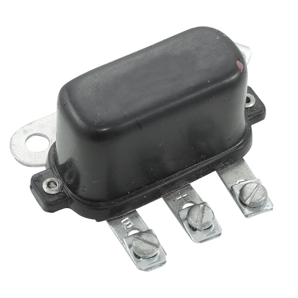 Relê de buzina 6V universal com 4 terminais  - Bunnitu Peças e Acessórios