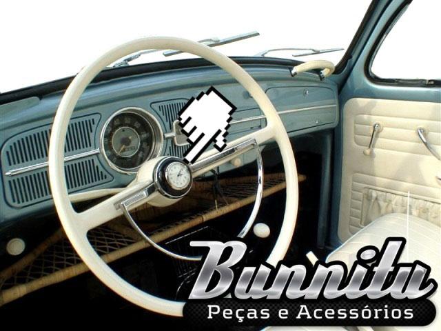 Relógio botão de buzina do Volante para VW Fusca Até 1973, Karmann Ghia, Variant, TL  - Bunnitu Peças e Acessórios