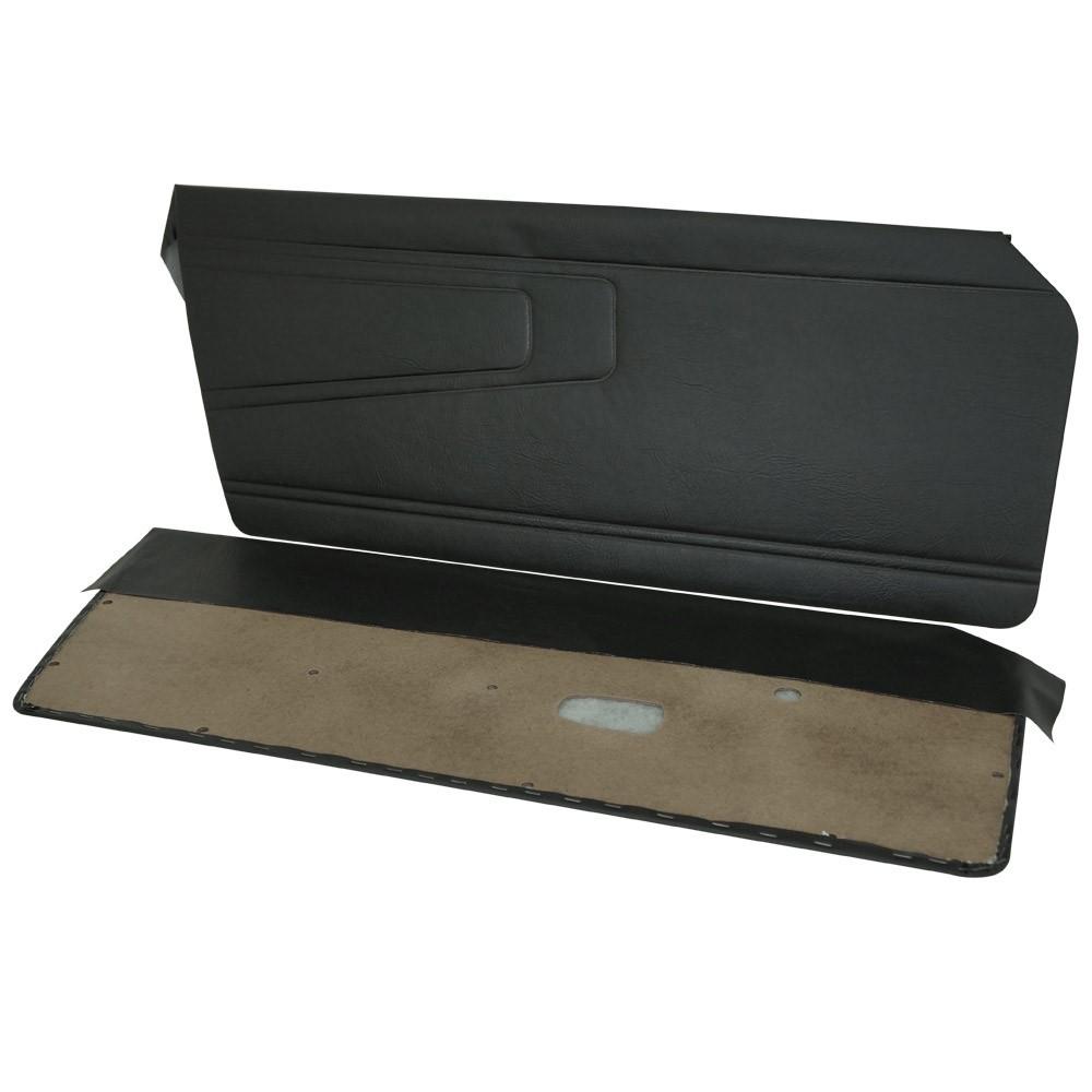 Forração lateral de porta na cor preta para Puma GTS GTE após 1976  - Bunnitu Peças e Acessórios