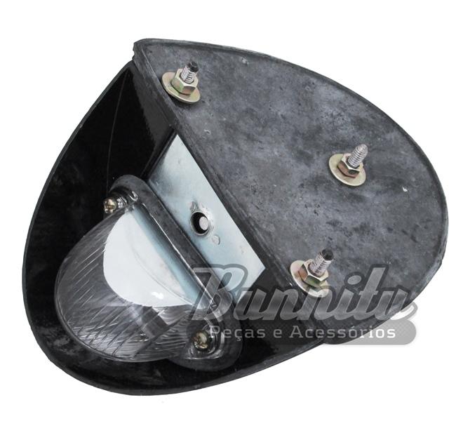 Lanterna da luz de placa para VW Fusca 1958 à 1964  - Bunnitu Peças e Acessórios