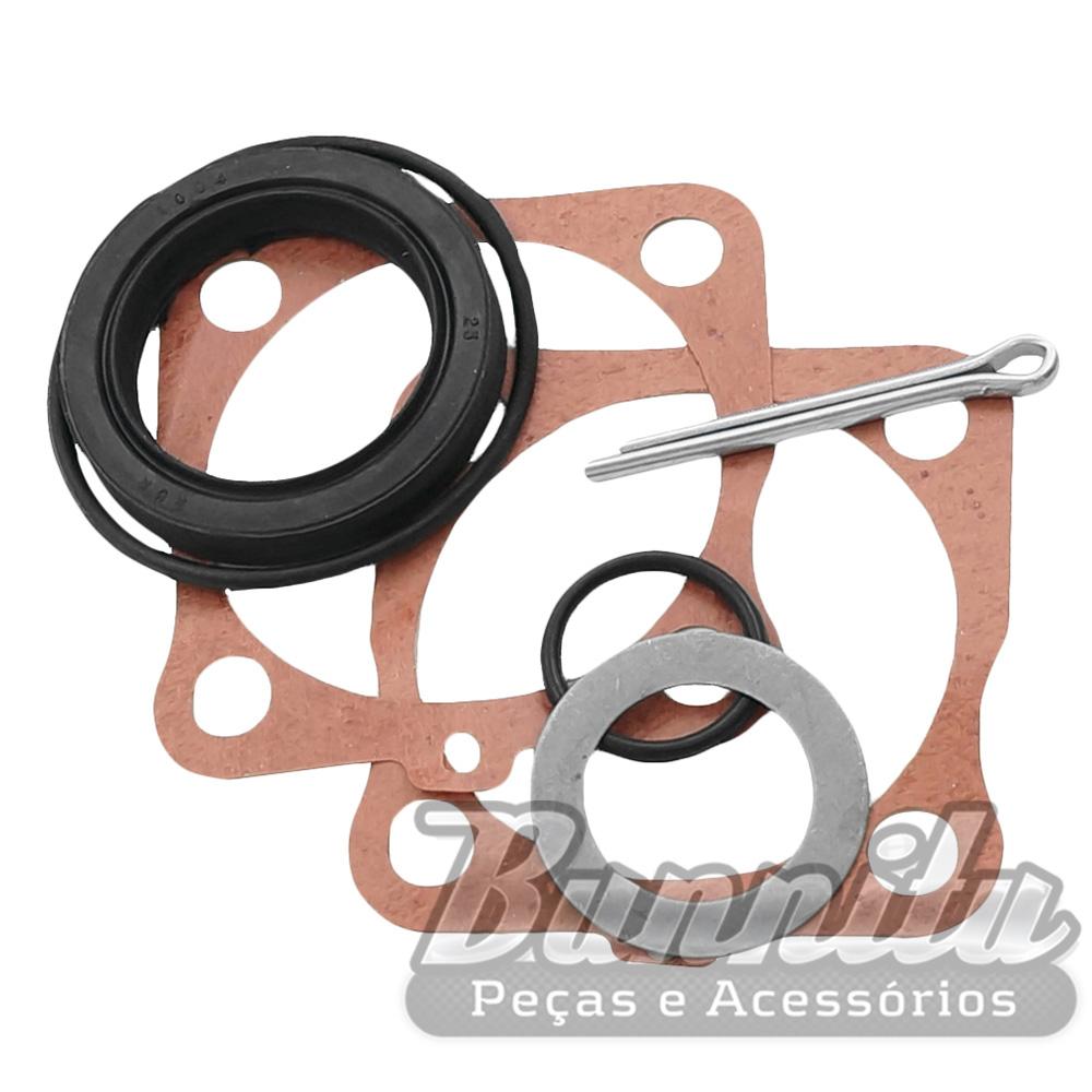 Kit de vedador da roda traseira para VW Fusca, Brasília, Variant, TL, Karmann Ghia e TC  - Bunnitu Peças e Acessórios