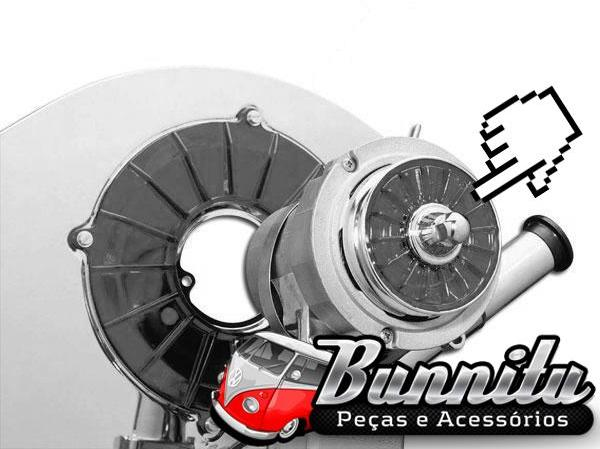 Acrílico decorativo para polia de dínamo e alternador do VW Ar  - Bunnitu Peças e Acessórios
