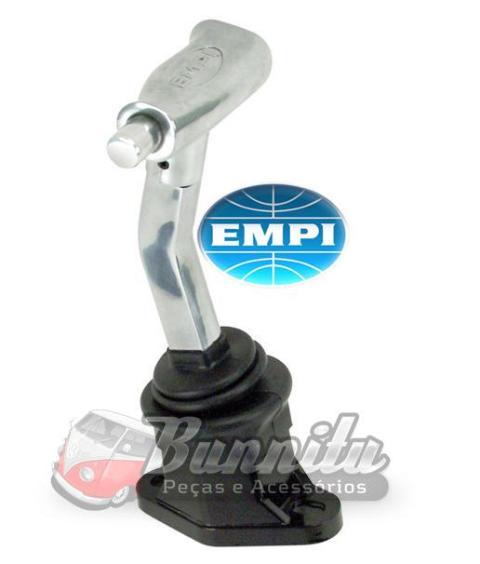 Alavanca curta de cambio mod. engate rapido EMPI para linha VW Ar  - Bunnitu Peças e Acessórios