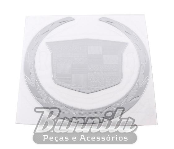 Adesivo externo para vidro modelo Cadillac  - Bunnitu Peças e Acessórios