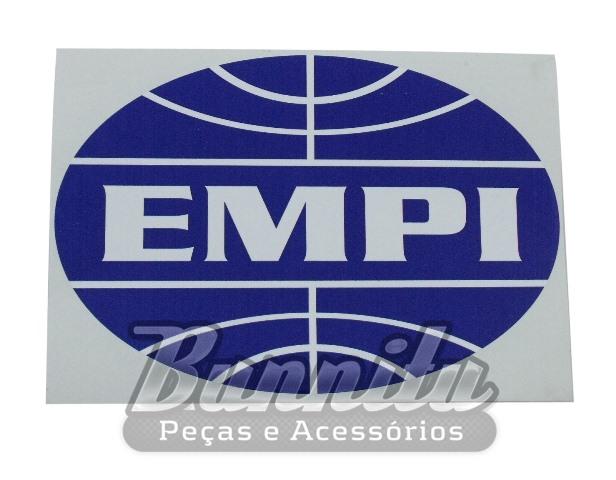 Adesivo original modelo Empi oval médio  - Bunnitu Peças e Acessórios