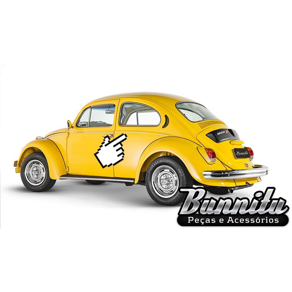 Jogo de frisos reforçados com espessura exportação para VW Fusca após 1972  - Bunnitu Peças e Acessórios