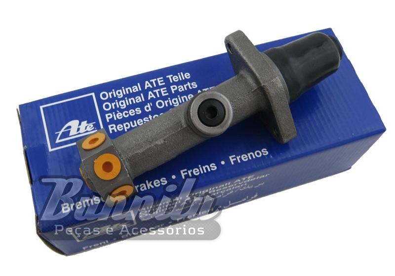 Cilindro mestre simples marca ATE para VW Fusca 1200, 1300, 1500 e Gurgel X-12  - Bunnitu Peças e Acessórios