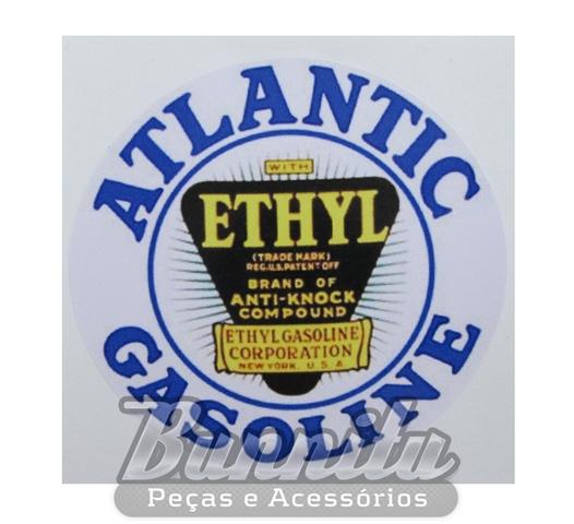 Adesivo modelo - Atlantic Gasoline  - Bunnitu Peças e Acessórios