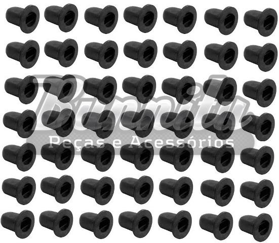 Pacote de chupetinhas exportação para fixação dos frisos laterais externos para VW Fusca até 1970  - Bunnitu Peças e Acessórios