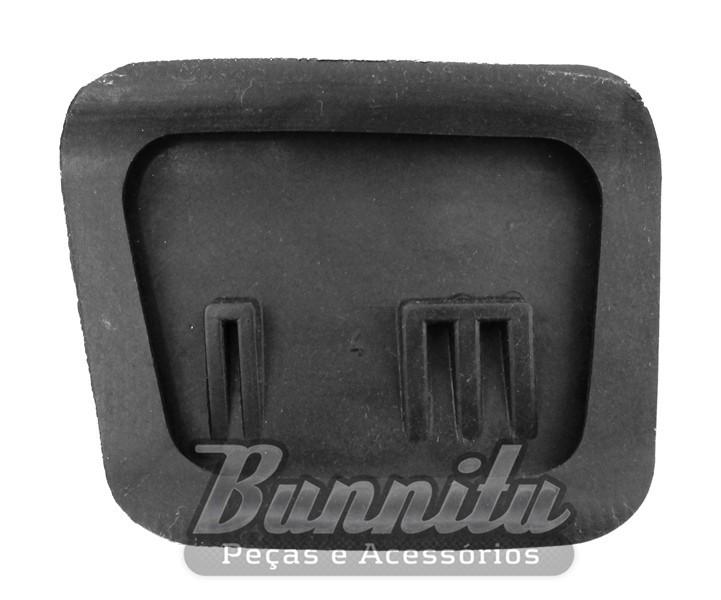 Capa borracha do pedal freio e embreagem para GM Veraneio, C-10, C-14, D-10, C-60  - Bunnitu Peças e Acessórios