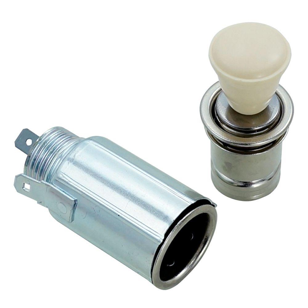 Acendedor de cigarros marfim para VW Fusca, Kombi e Karmann Ghia  - Bunnitu Peças e Acessórios