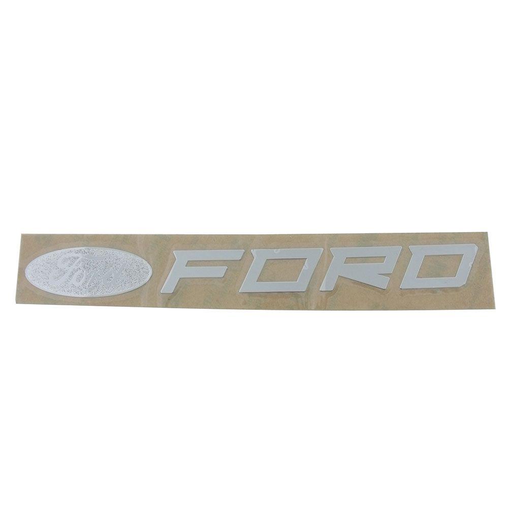 Adesivo externo para vidro modelo Logo Ford + letras FORD  - Bunnitu Peças e Acessórios