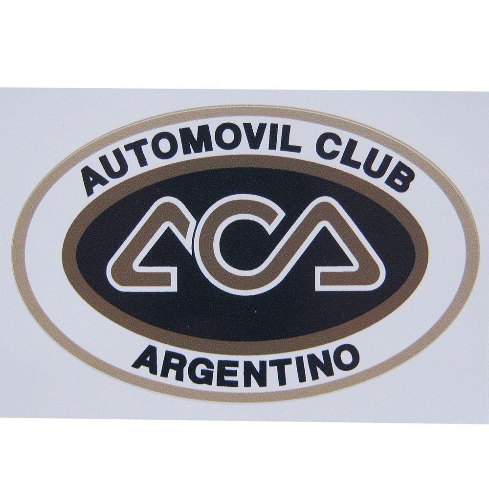 Adesivo modelo ACA - Automovil Club Argentino  - Bunnitu Peças e Acessórios