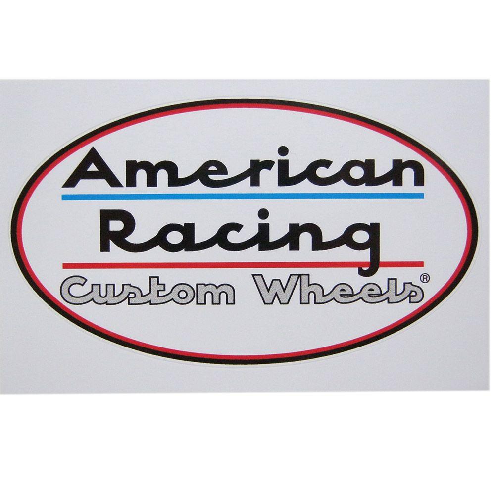 Adesivo modelo American Racing - Custom Wheels  - Bunnitu Peças e Acessórios