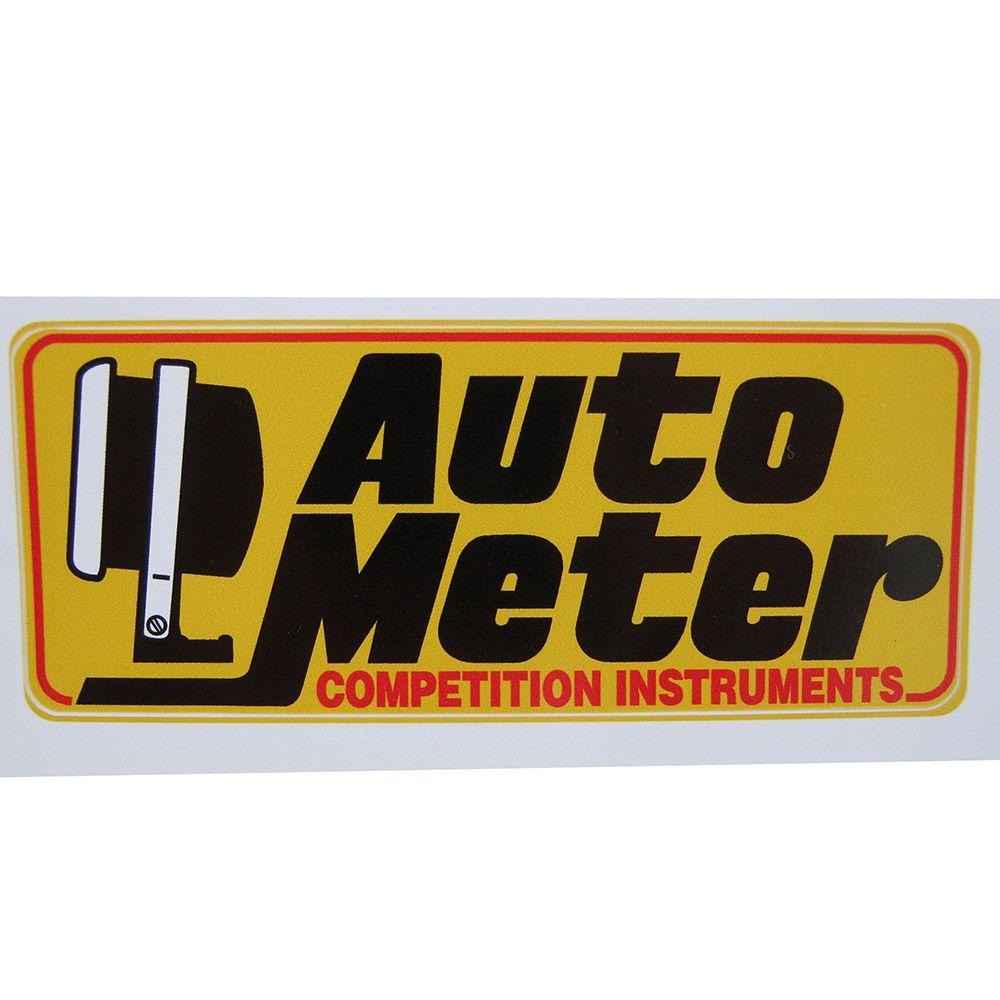 Adesivo modelo Auto Meter Competition Instruments  - Bunnitu Peças e Acessórios