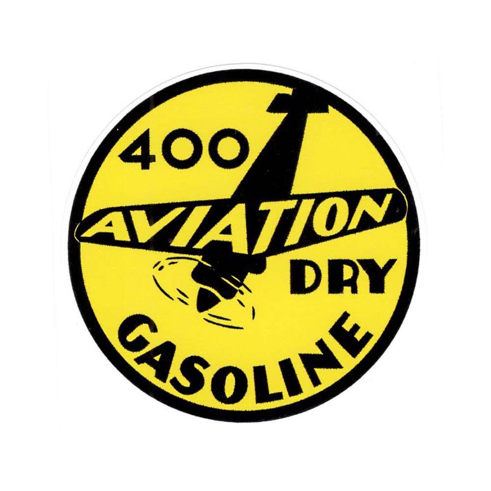 Adesivo modelo Aviation dry gasoline  - Bunnitu Peças e Acessórios