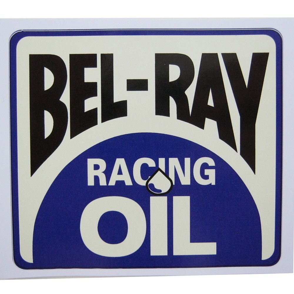 Adesivo modelo Bel-Ray Racing Oil  - Bunnitu Peças e Acessórios