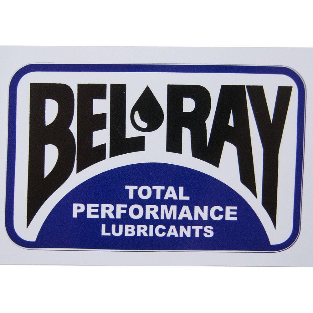 Adesivo modelo Bel Ray - Total Performance Lubrificants  - Bunnitu Peças e Acessórios