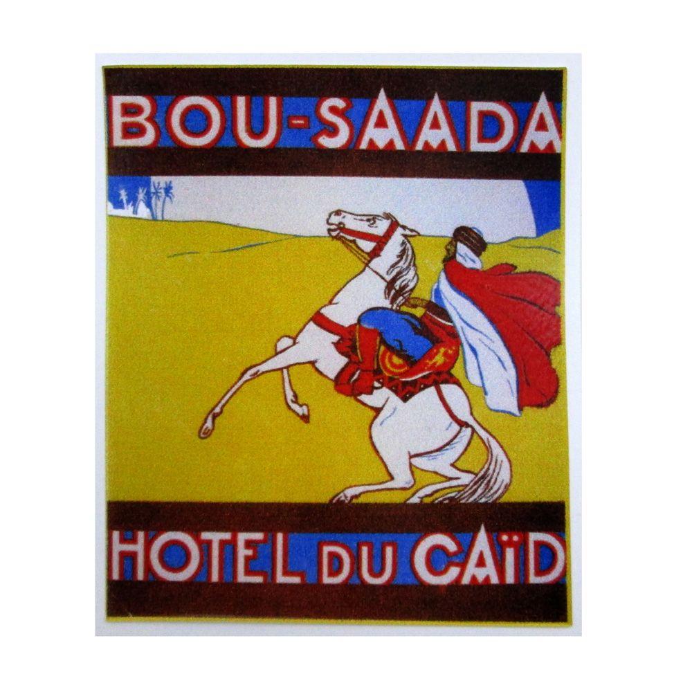 Adesivo modelo - Bou-Saada - Hotel Du Caid  - Bunnitu Peças e Acessórios