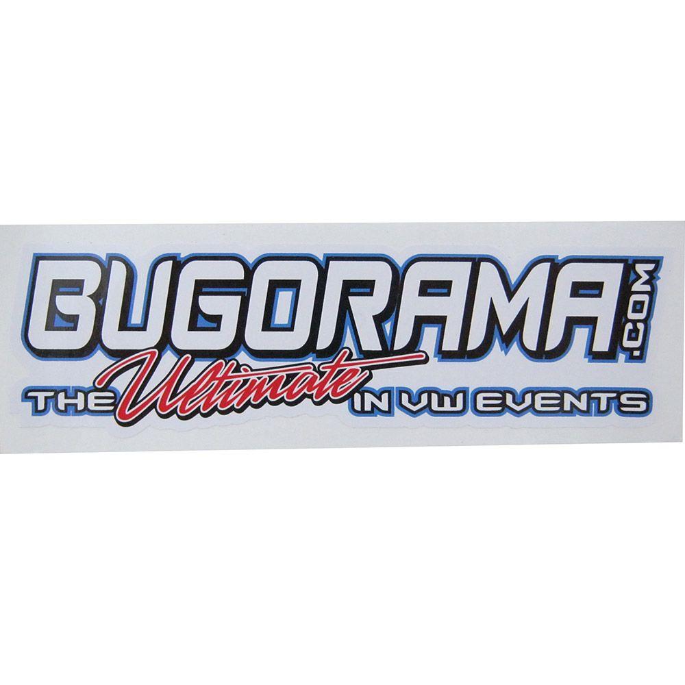 Adesivo modelo Bugorama.com The Ultimate in VW events  - Bunnitu Peças e Acessórios
