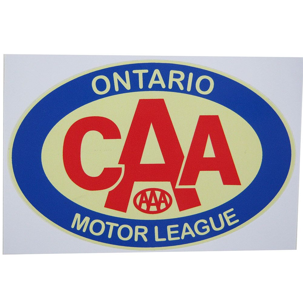 Adesivo modelo CAA Ontário Motor League  - Bunnitu Peças e Acessórios