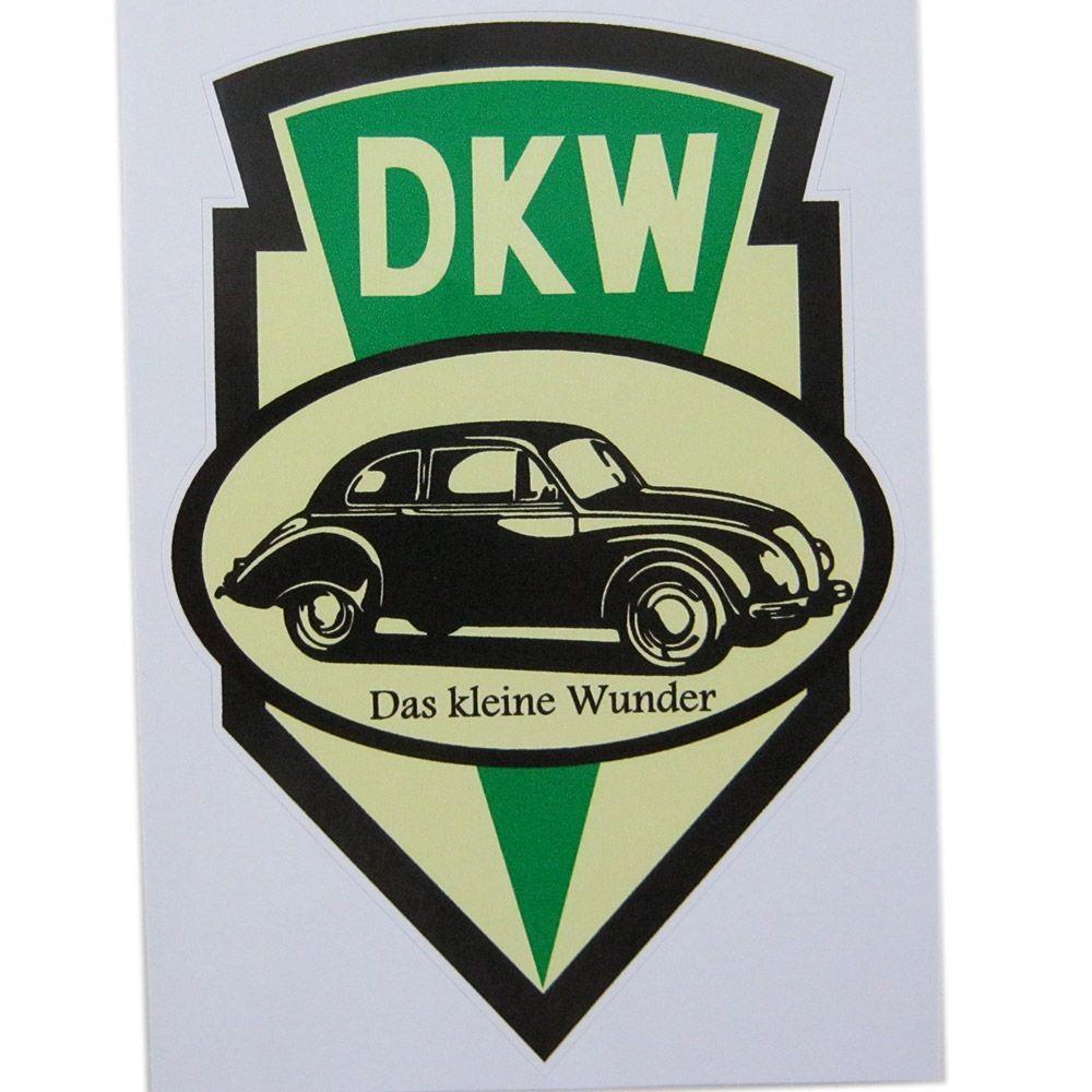 Adesivo modelo DKW - Das Kleine Wunder  - Bunnitu Peças e Acessórios