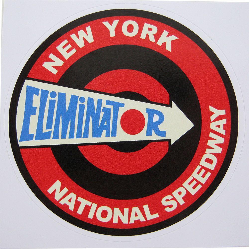 Adesivo modelo Eliminator - New York National Speedway  - Bunnitu Peças e Acessórios
