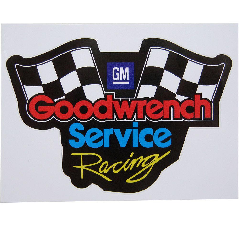 Adesivo modelo Goodwrench Service Racing GM  - Bunnitu Peças e Acessórios