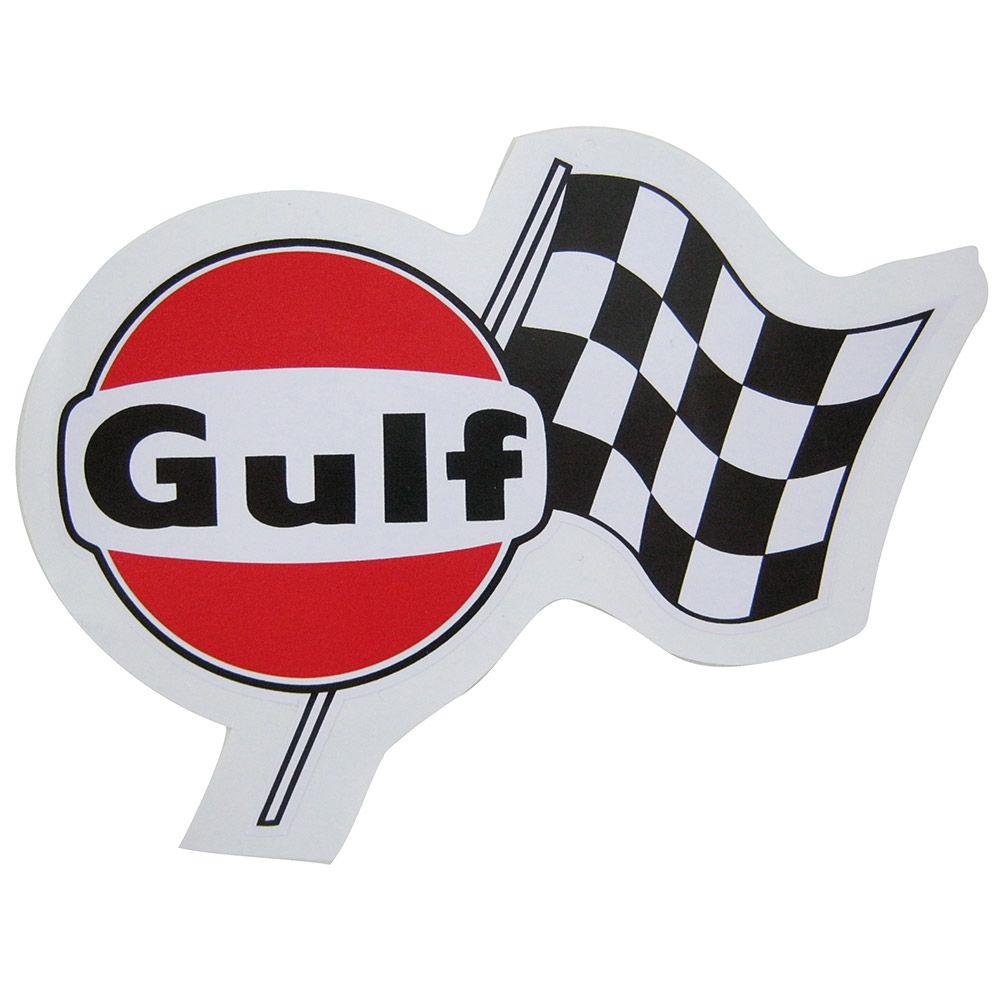 Adesivo modelo Gulf  - Bunnitu Peças e Acessórios