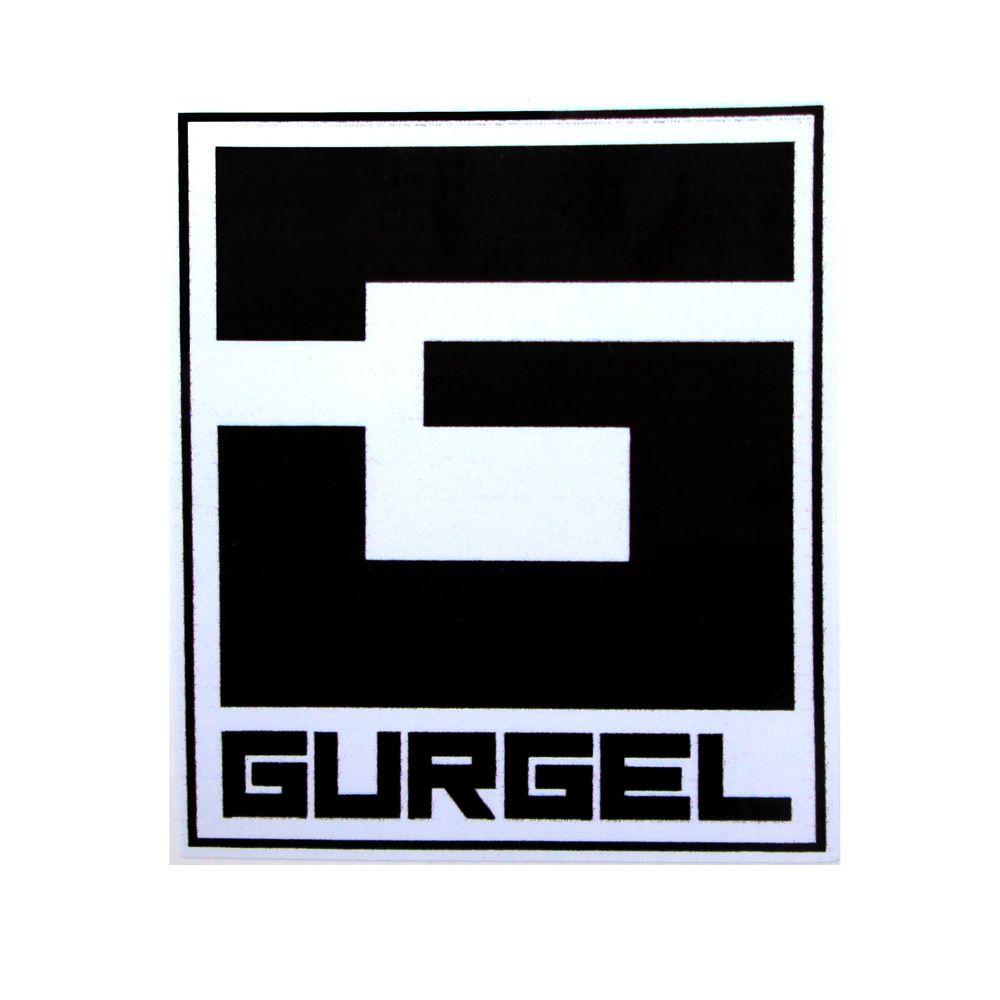 Adesivo modelo - Gurgel preto  - Bunnitu Peças e Acessórios