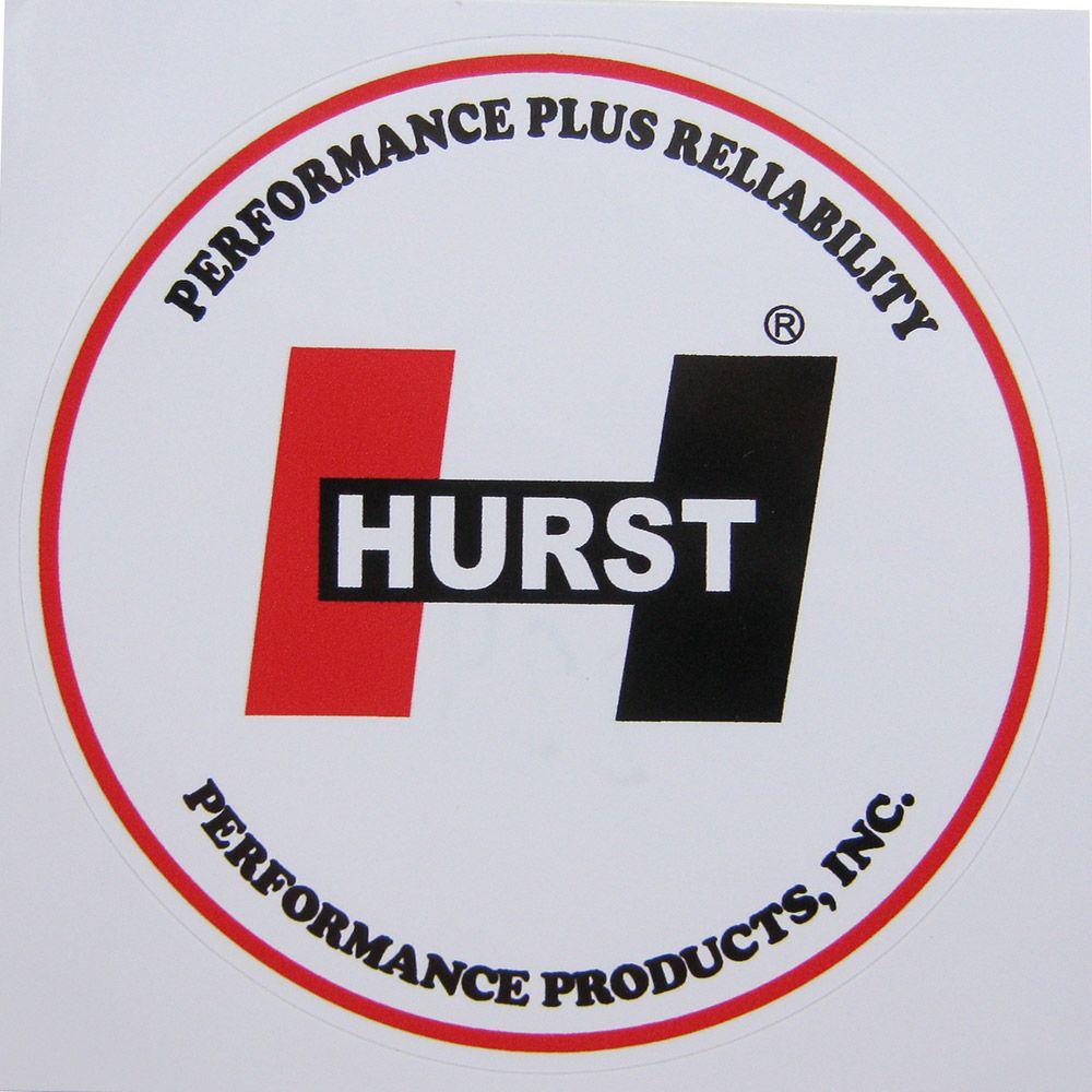 Adesivo modelo Hurst Performance Plus Realiability  - Bunnitu Peças e Acessórios