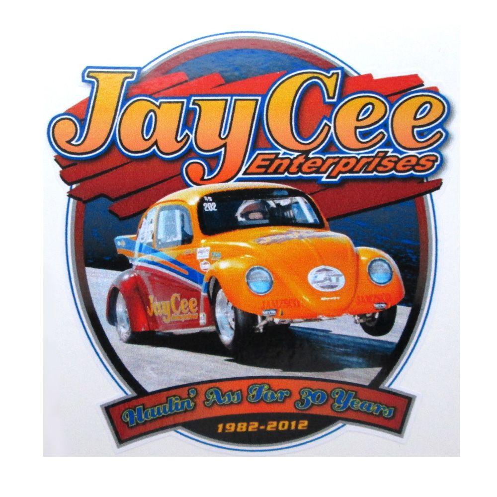 Adesivo modelo - Jay Cee Enterprises  - Bunnitu Peças e Acessórios