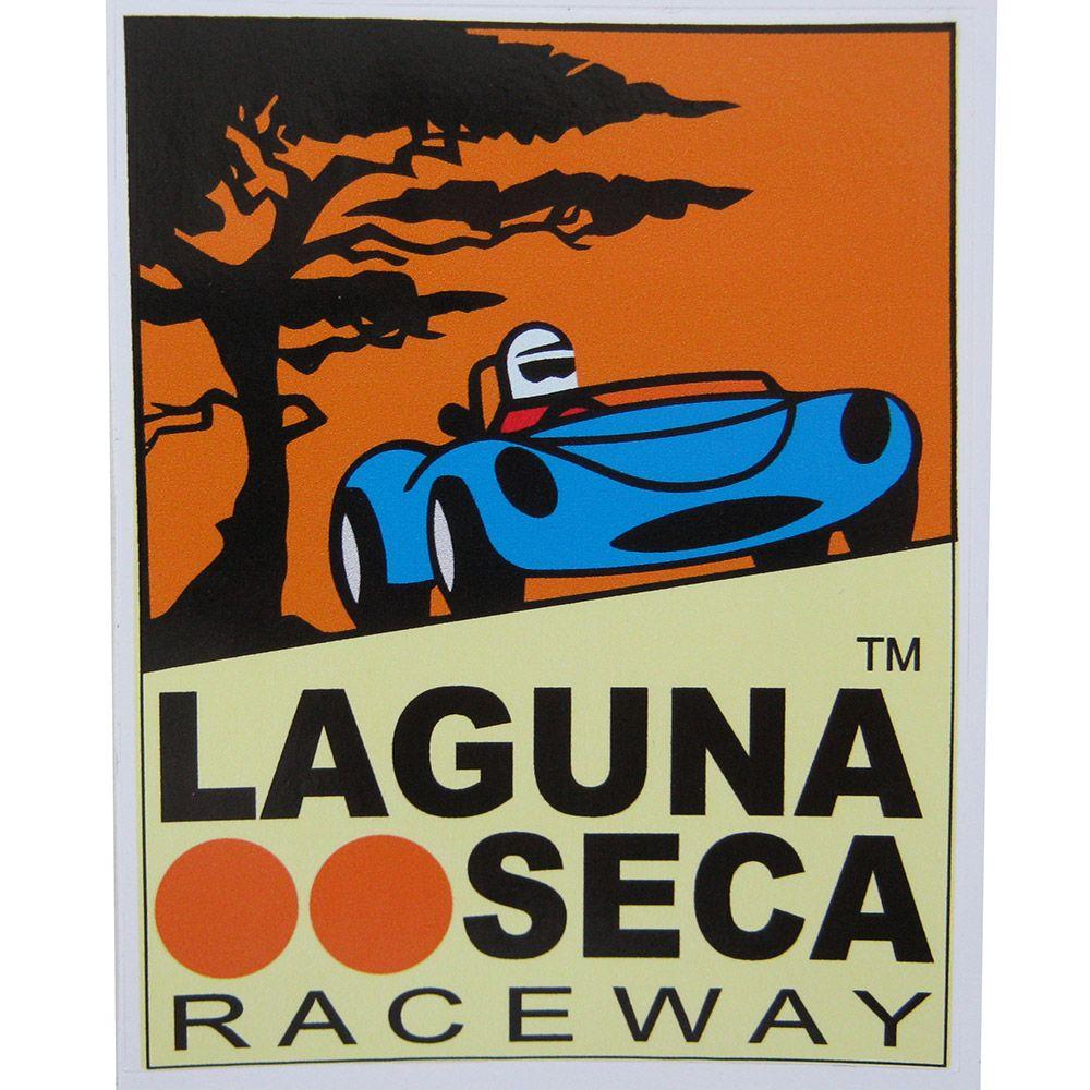 Adesivo modelo Laguna Seca - RaceWay  - Bunnitu Peças e Acessórios