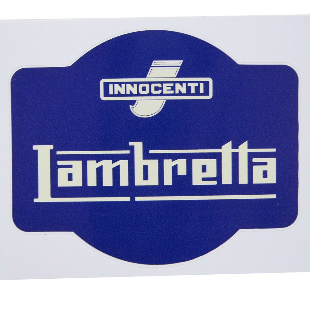 Adesivo modelo Lambretta - Innocenti  - Bunnitu Peças e Acessórios