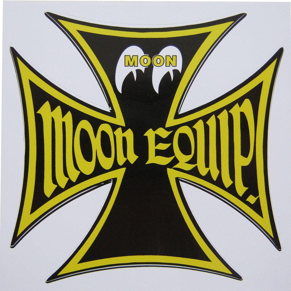 Adesivo modelo Moon Equip. - Cruz de Malta  - Bunnitu Peças e Acessórios
