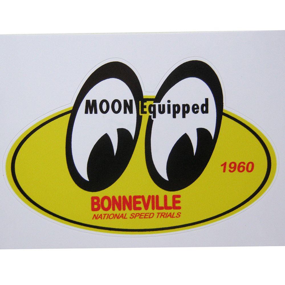 Adesivo modelo Moon Equipped 1960 - Bonneville  - Bunnitu Peças e Acessórios