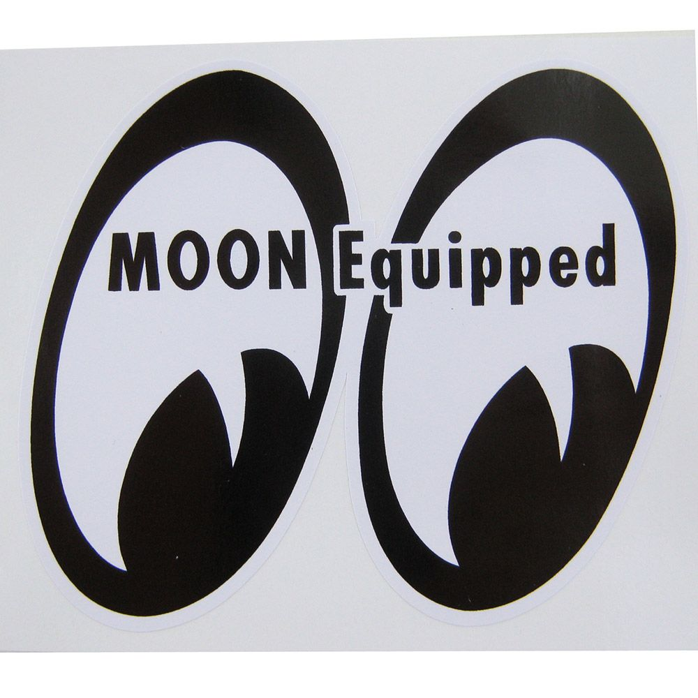 Adesivo modelo Moon Equipped  - Bunnitu Peças e Acessórios