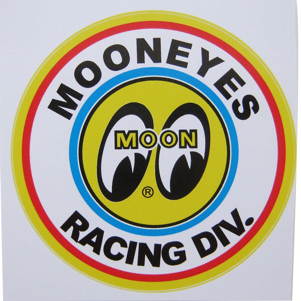 Adesivo modelo Moon Eyes Racing Div.  - Bunnitu Peças e Acessórios
