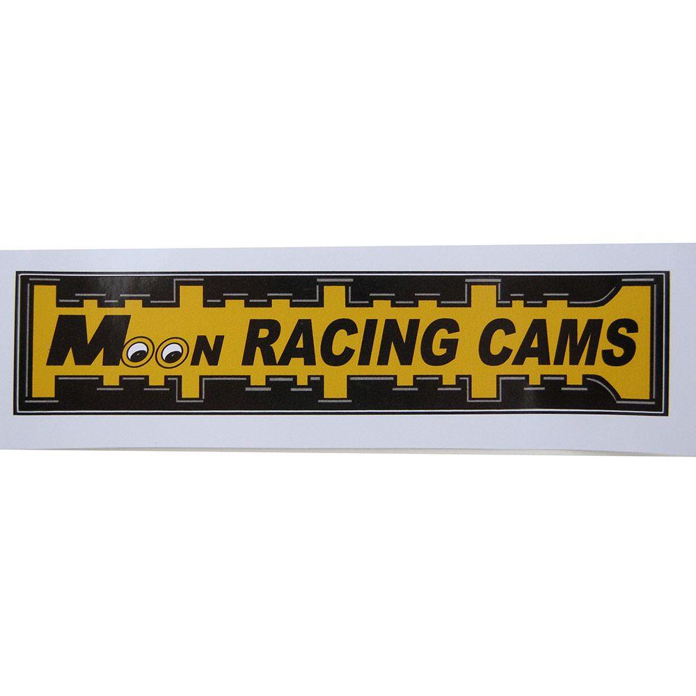 Adesivo modelo Moon Racing Cams  - Bunnitu Peças e Acessórios
