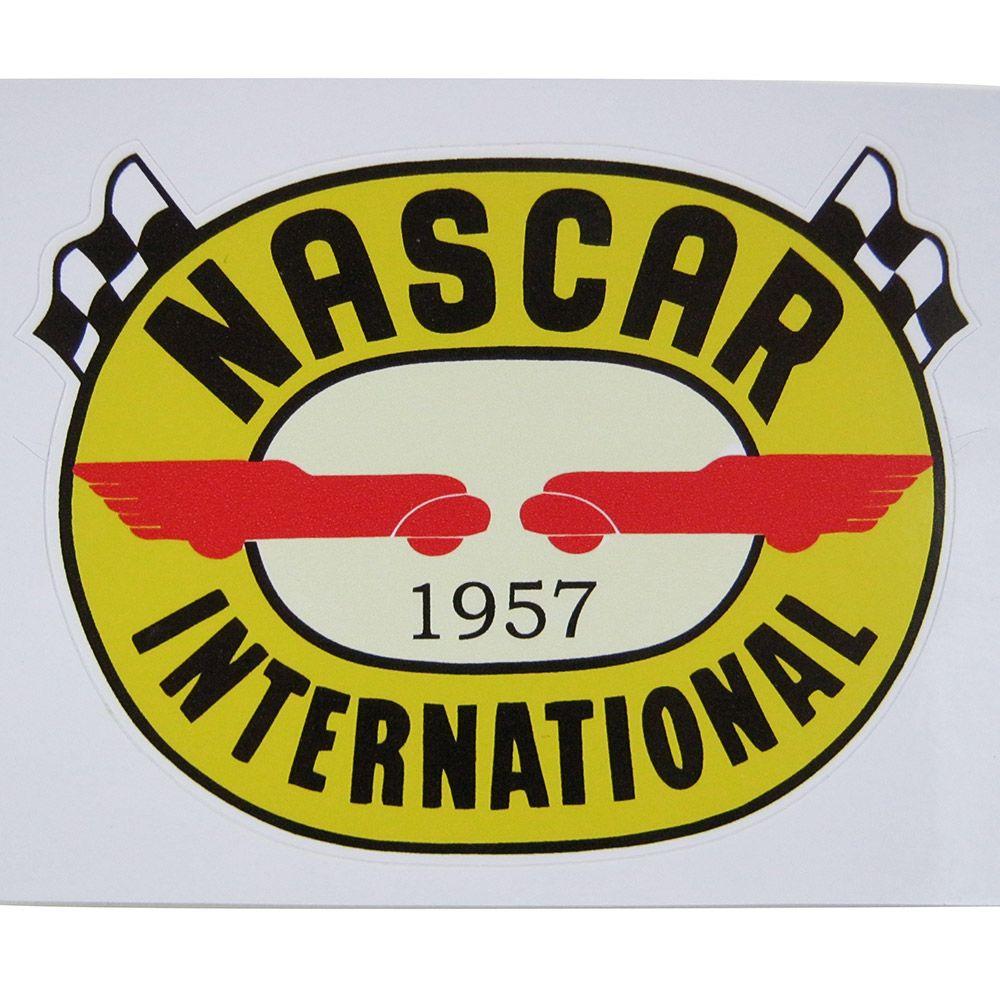 Adesivo modelo Nascar International 1957  - Bunnitu Peças e Acessórios