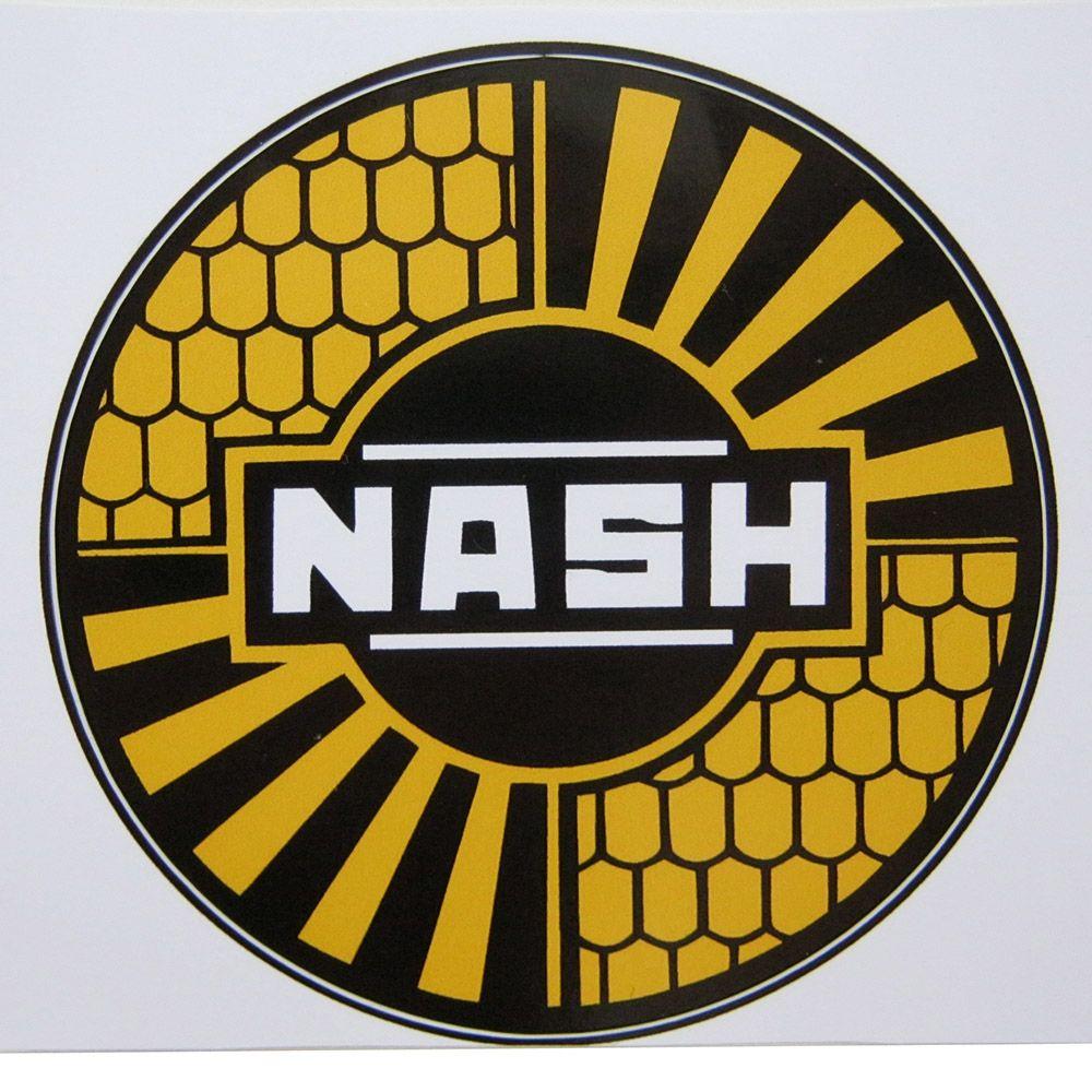 Adesivo modelo Nash  - Bunnitu Peças e Acessórios